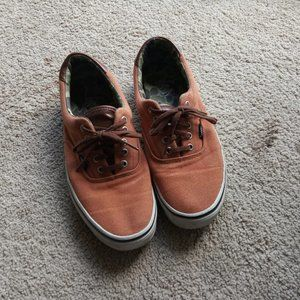 Vans Authentic Brown Camouflage Skate Shoes